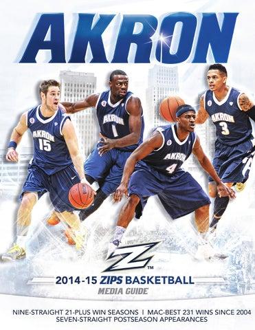 8763a09ec 2014-15 Akron Basketball Media Guide by Akron Zips - issuu