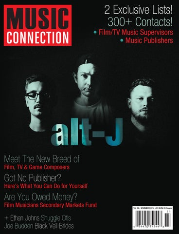 Music Connection Nov  2014 by Music Connection - issuu