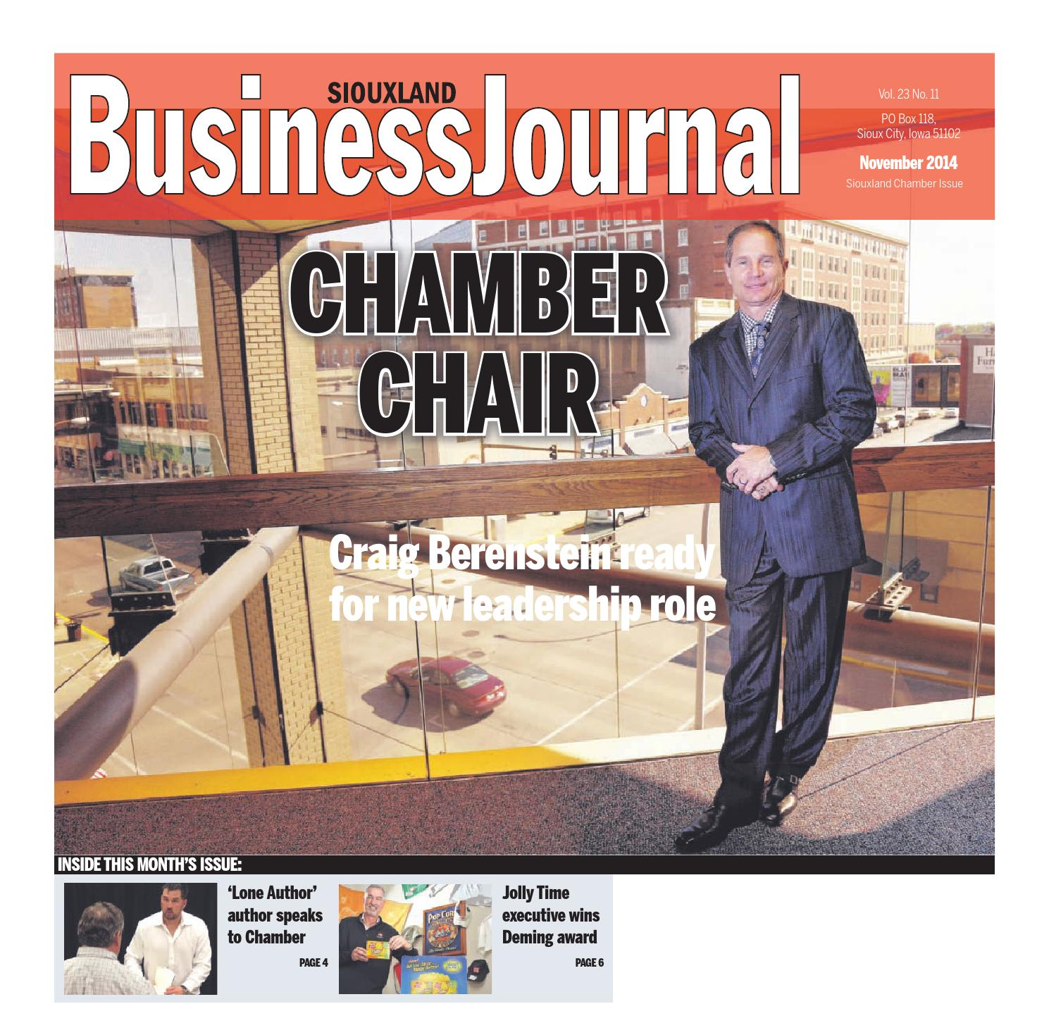 siouxland business journal november 2014 by sioux city journal