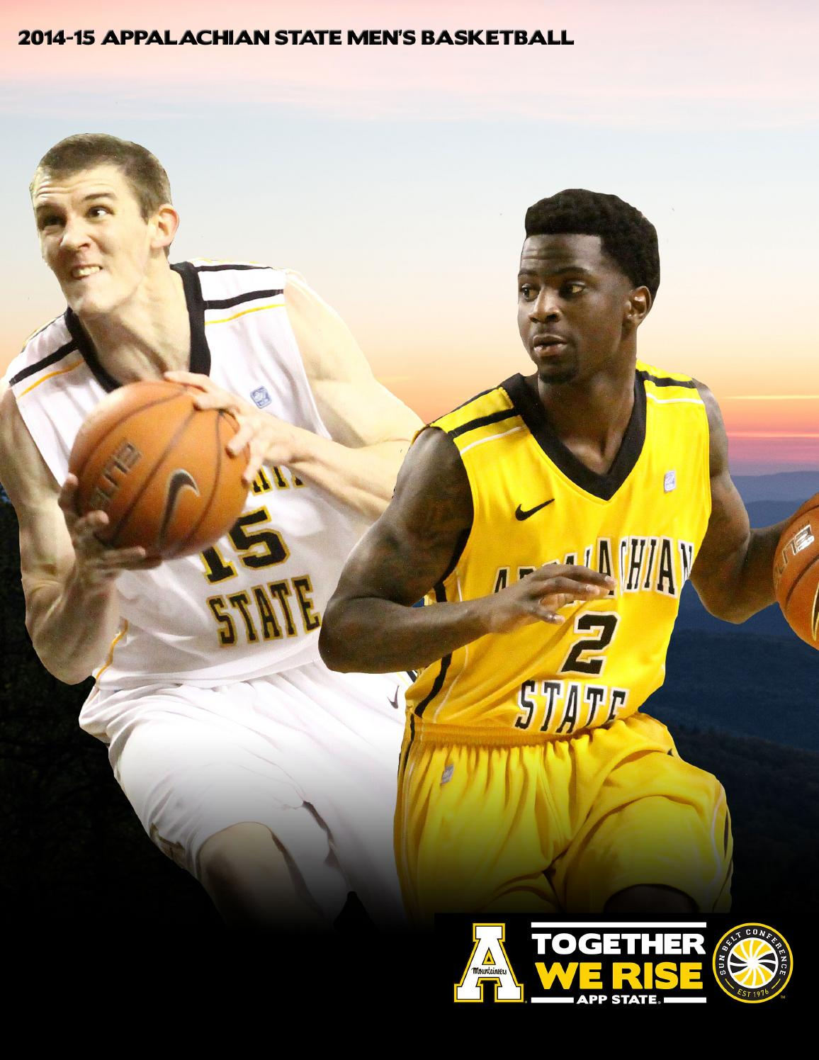 1c5138164c6 2012-13 Appalachian State Men s Basketball Yearbook by Appalachian State  University Athletics - issuu