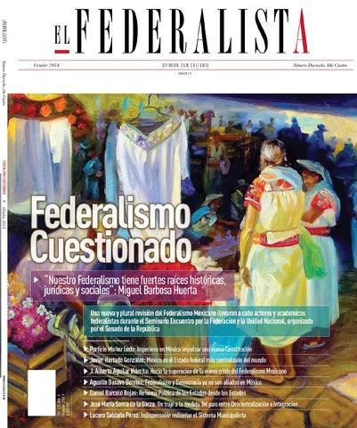 REVISTA EL FEDERALISTA NÚM.18 by EL FEDERALISTA - issuu