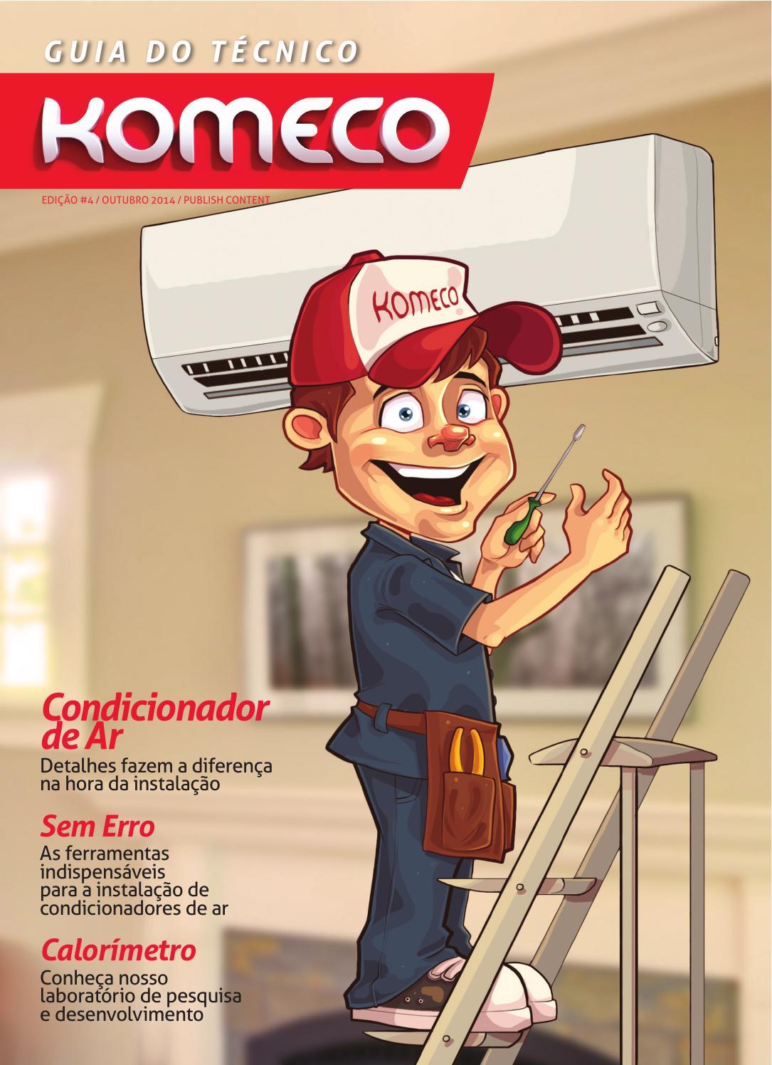 Guia do Técnico Komeco - Edição 04