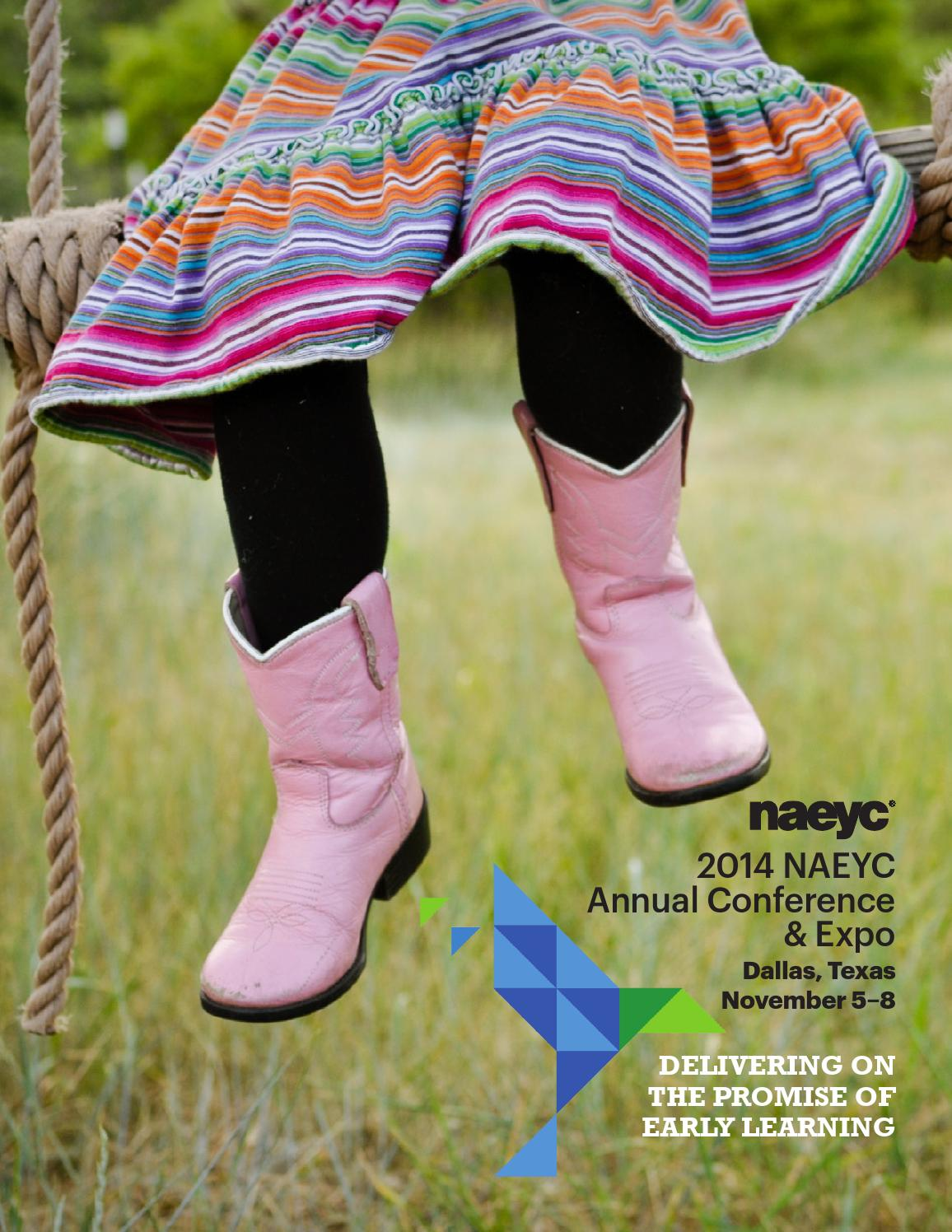 699b982db5 2014 Annual Conference   Expo Final Program by NAEYC - issuu