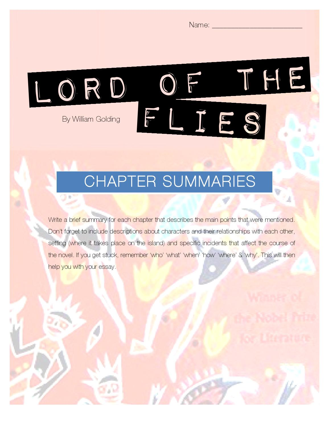 Lord of the Flies   Summary of Chapter      YouTube SlidePlayer   Setting