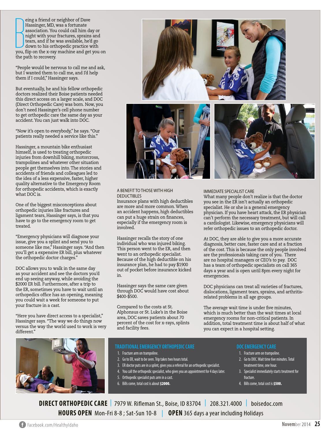 Healthy Idaho   NOV '14 by Healthy Magazine - issuu