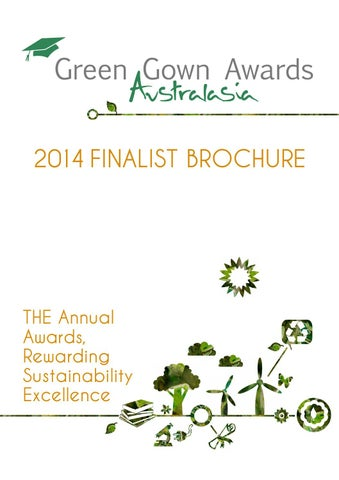Green Gown Awards Australasia 2014 Finalist Brochure web by ACTS - issuu