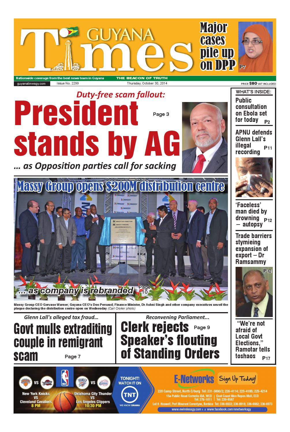 Guyana Times, October ...