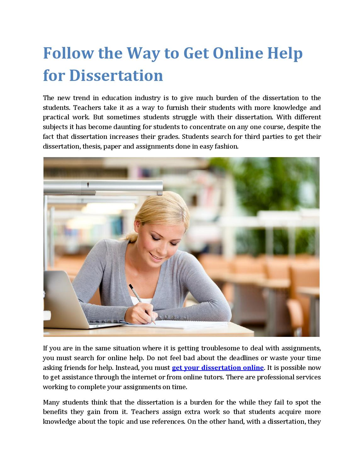 dissertation to journal article