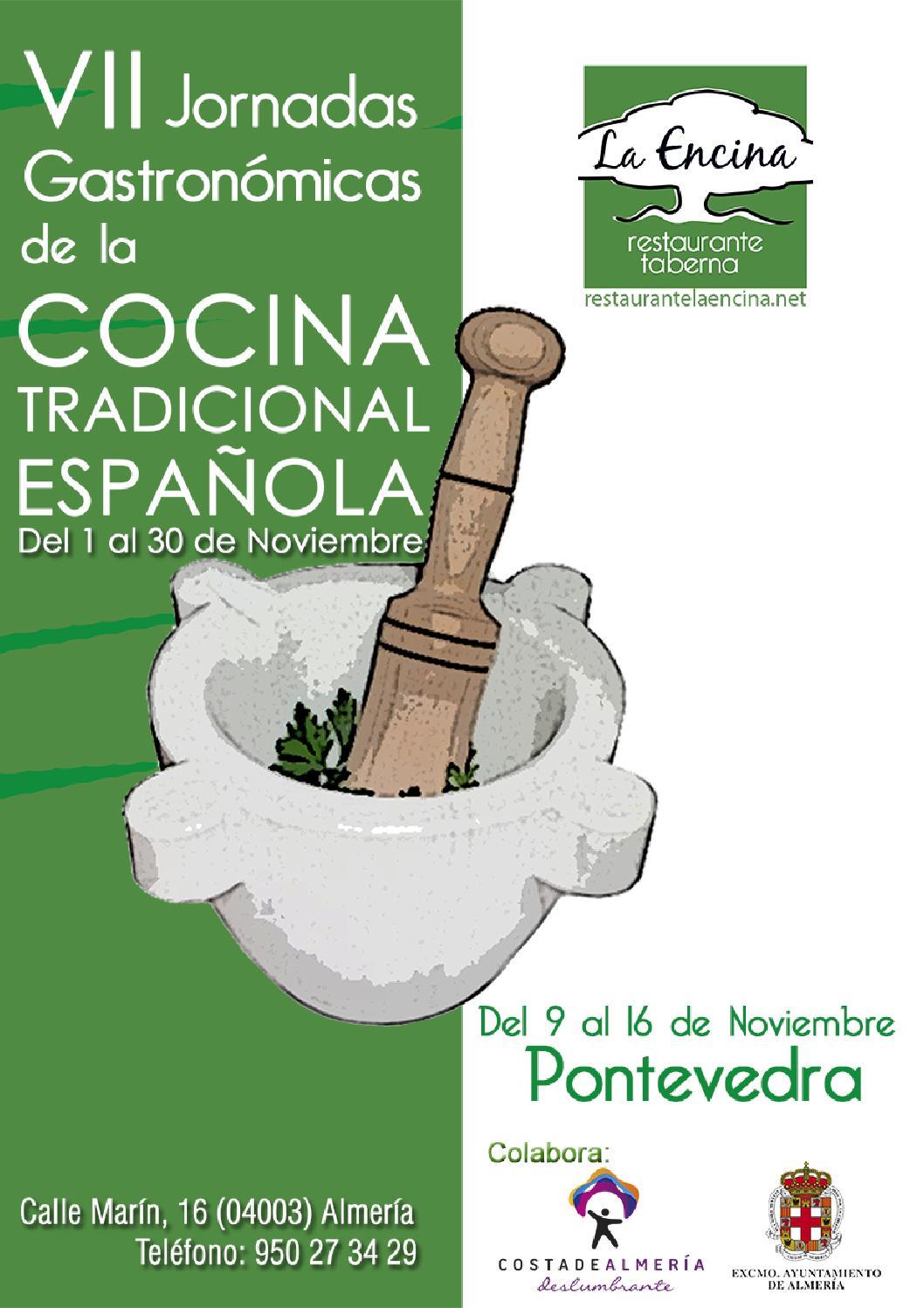 Pontevedra en las vii jornadas de la cocina tradicional for Cocina tradicional espanola