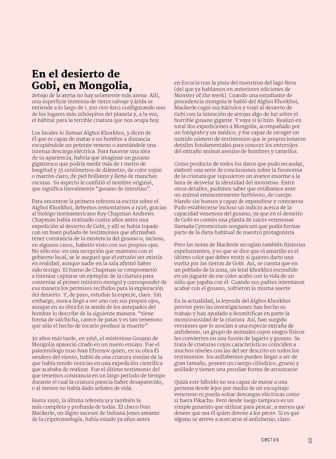 a960be3cc2 Cactus  8 by Cactus Revista - issuu
