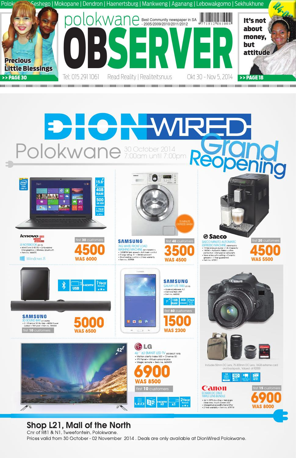 Polokwane observer 30 october 2014 by Polokwane Observer - issuu