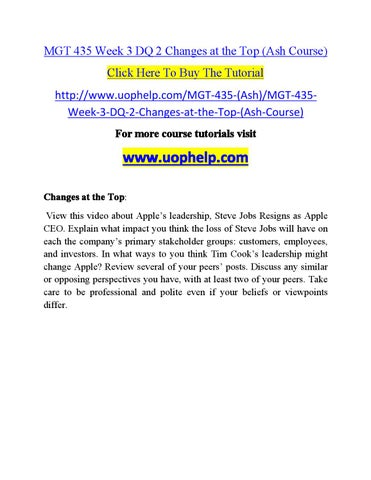 mgmt 520 week Mgmt 520 week 8 final set 2 click here to buy the tutorial http wwwtutorialrankcom/mgmt-520/product-11889-mgmt-520-week-8-final-set-2 for more course.