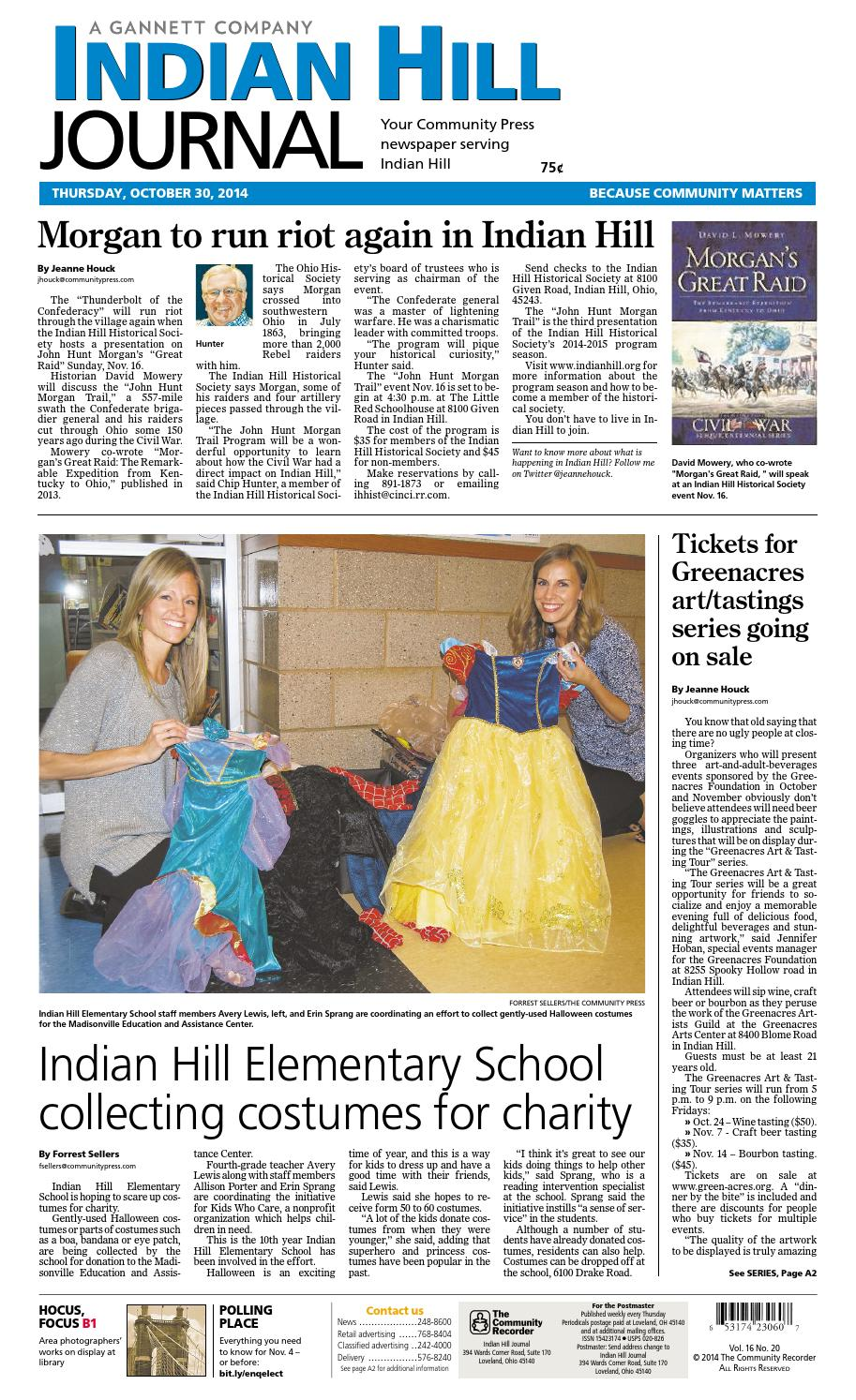 indian hill journal 102914 by enquirer media issuu rh issuu com