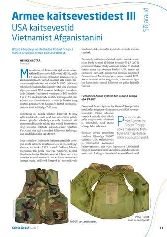 96b3bf0687f ... Afganistanini Page 53 of Armee kaitsevestidest III - USA kaitsevestid  Vietnamist Afganistanini
