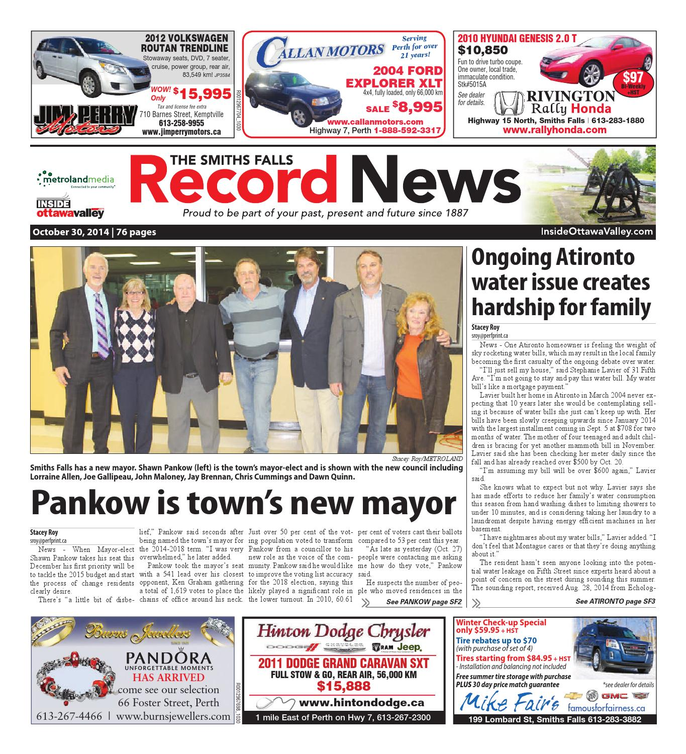 smithsfalls103014 by metroland east smiths falls record news issuu