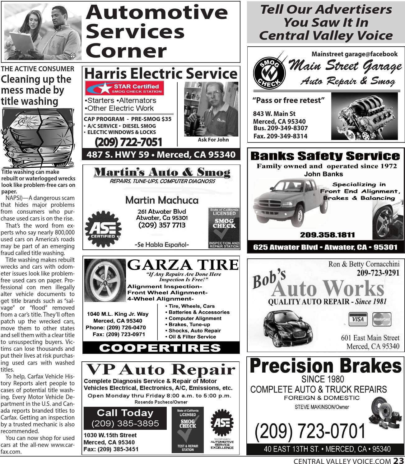 East Main Auto >> October 2014 By Central Valley Voice Issuu