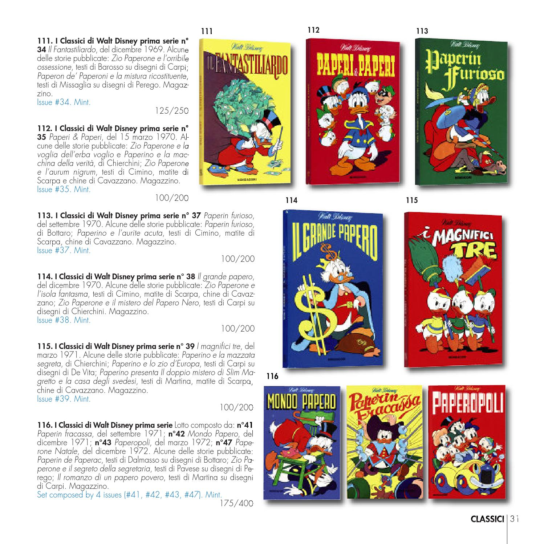 Little Nemo 30th Auction Mondo Paperino Donald Ducks World By