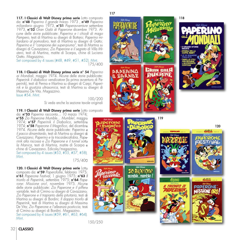 Little Nemo 30th Auction Mondo Paperino Donald Duck S World By