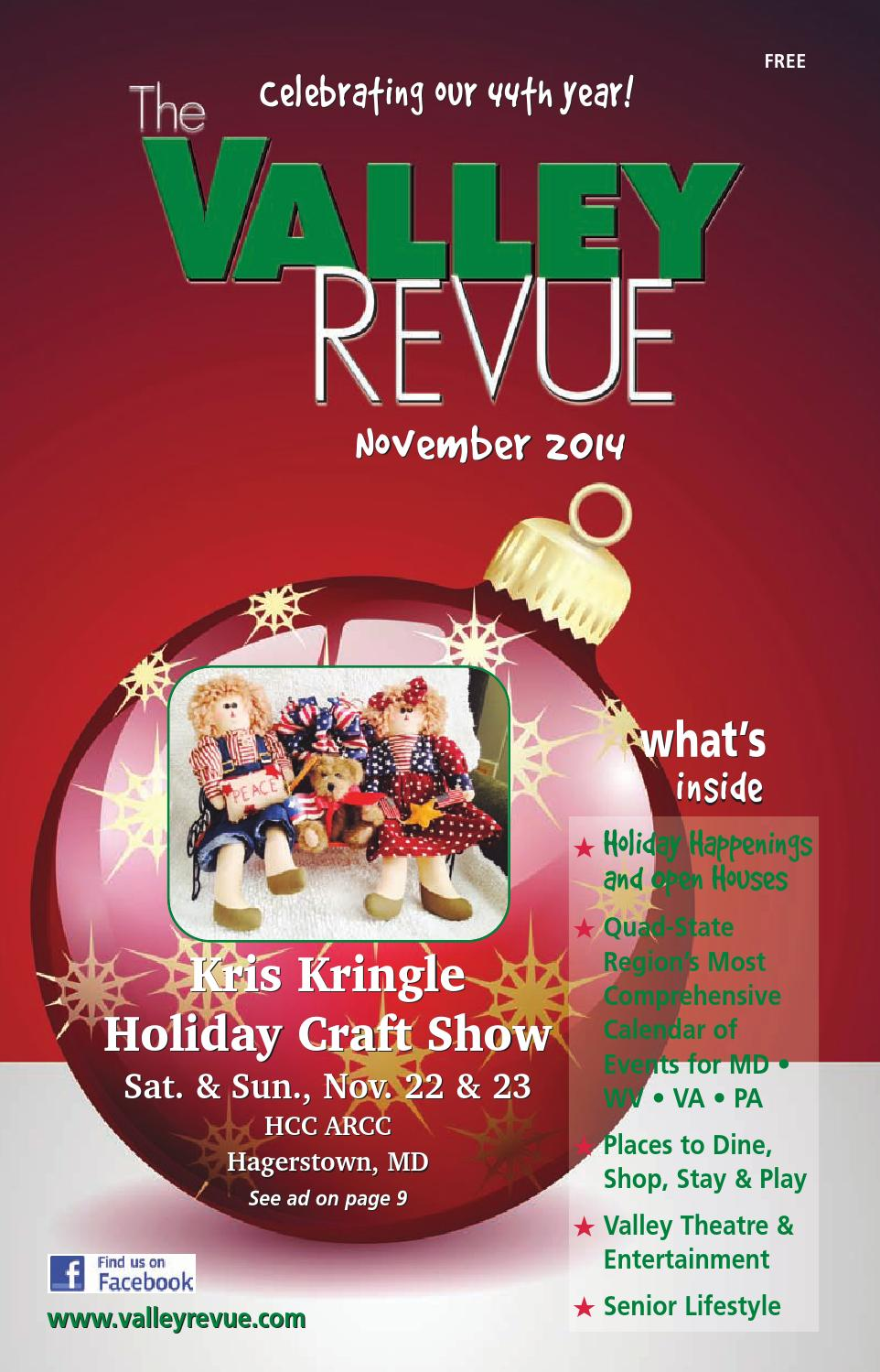 November 2014 valley revue by the valley revue issuu for Craft store frederick md