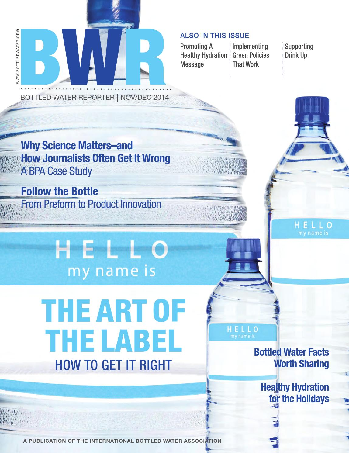 bottled water Learn more by reading epa's water health series document on bottled water basics you may need a pdf reader to view files on this page see epa's about pdf page to learn more water health series bottled water basics (pdf)(7 pp, 1 mb.