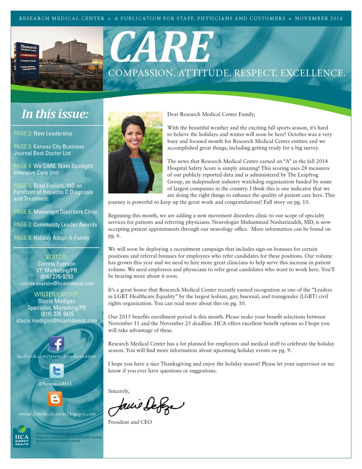 2016 kenmore mercy hospital nursing annual report by catholic research medical center november care newsletter fandeluxe Choice Image