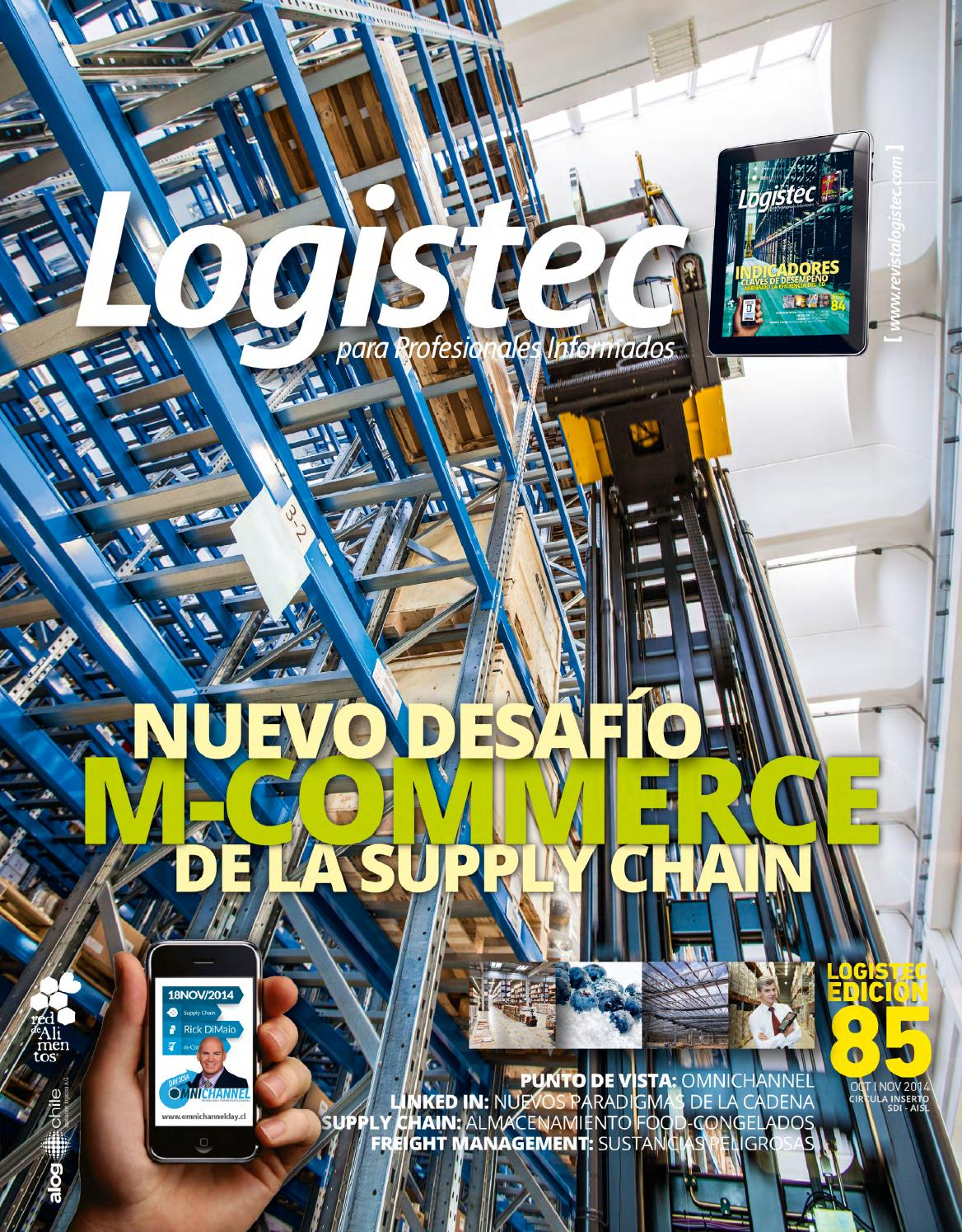 Logistec Ed.85 by 303 Editoriales S.A. - issuu