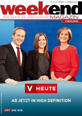 premium selection 41451 5dd32 Weekend Magazin Vorarlberg 2014 KW 44 by Weekend Magazin Vorarlberg ...