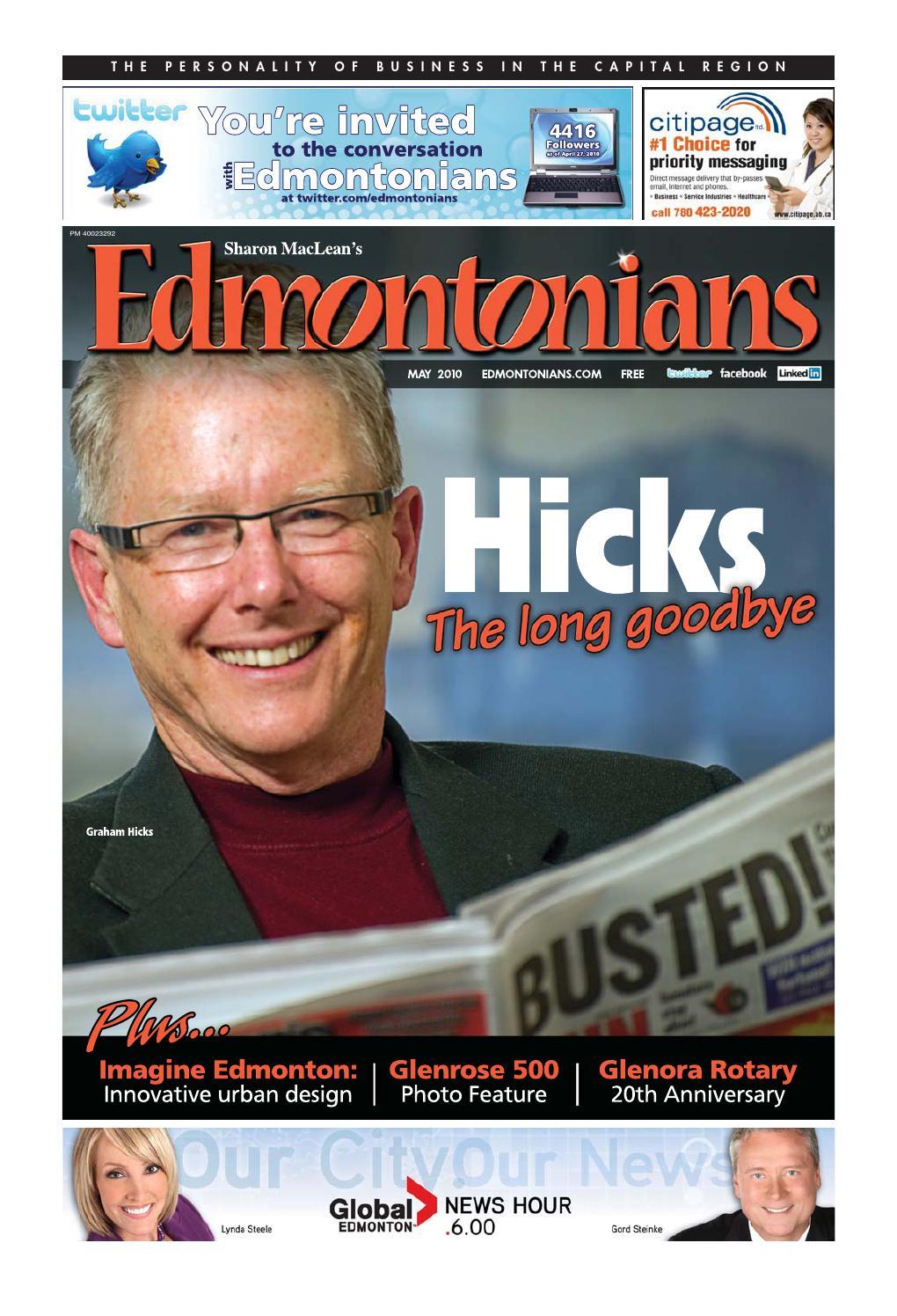Edmontonians May10 by Edmontonians Newsmagazine - issuu