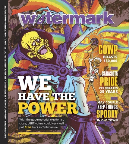 Eustace Tilley Celebrates 72nd Birthday >> Watermark Issue 21 22 Rick Scott Vs Charlie Crist By Watermark