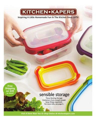 Kitchen Kapers 2015 Catalog
