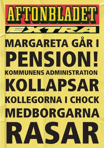 grattiskort pension Maggan går i pension, grattiskort by Ulrika Björn   issuu grattiskort pension