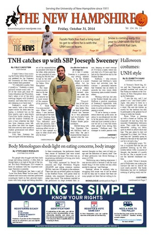 Issue15 By The New Hampshire Issuu