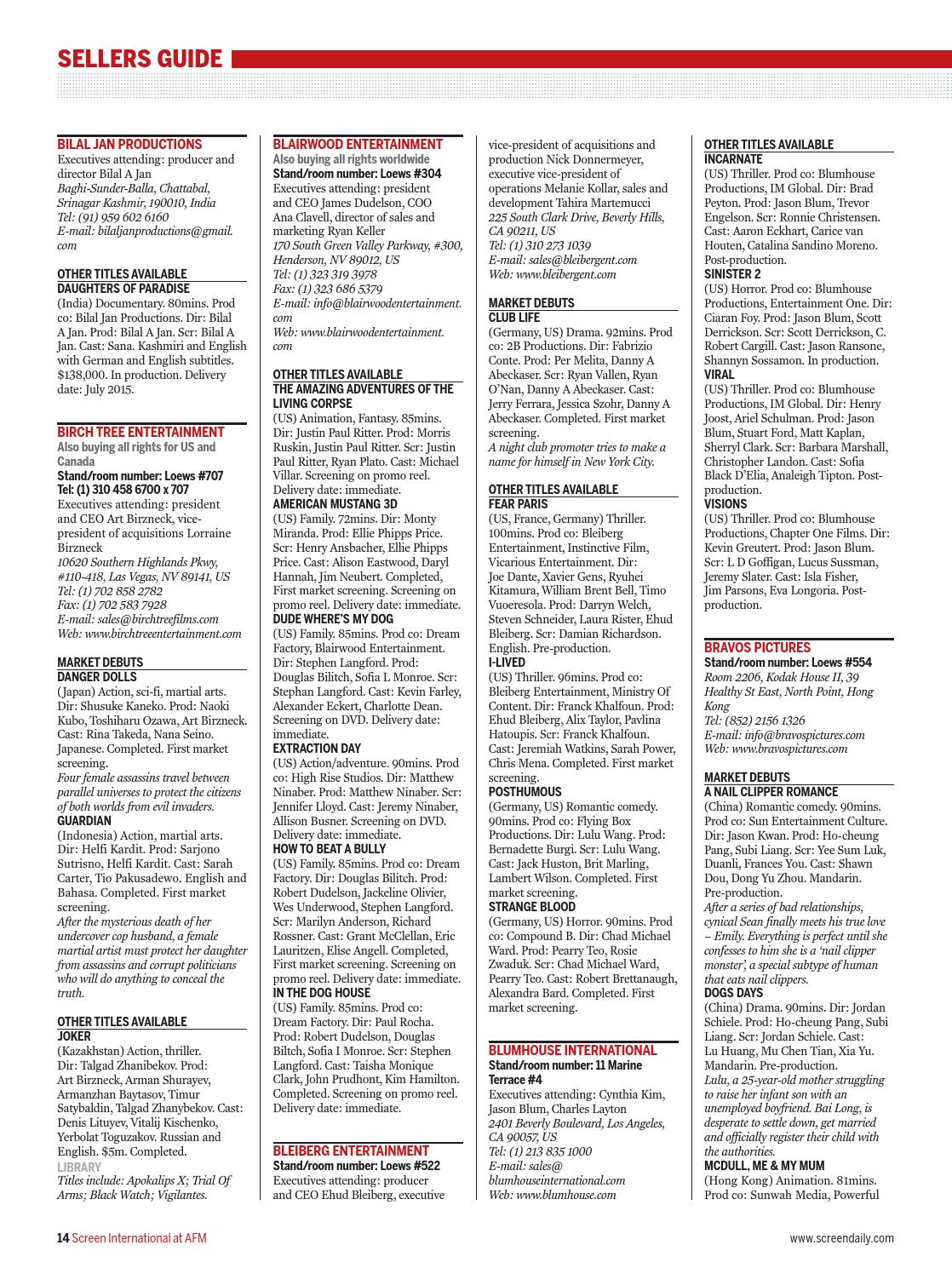 Screen AFM Bumper 2014 by Media Business Insight - issuu