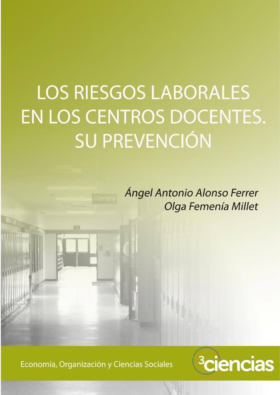 Los riesgos laborales en los centros docentes su prevención by ...