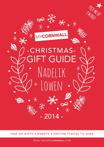 myCornwall Cornish Gift Guide 2014