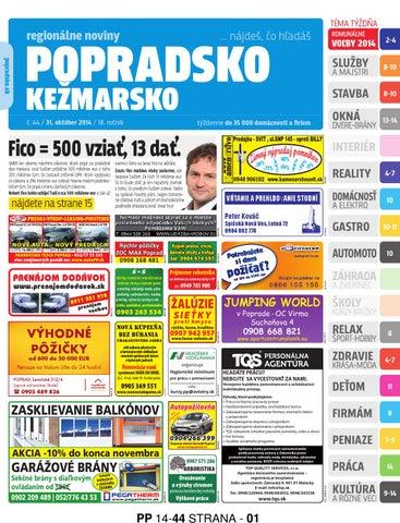 Popradsko 14-44 by REGIONPRESS - Popradsko - issuu 10e87fe917f