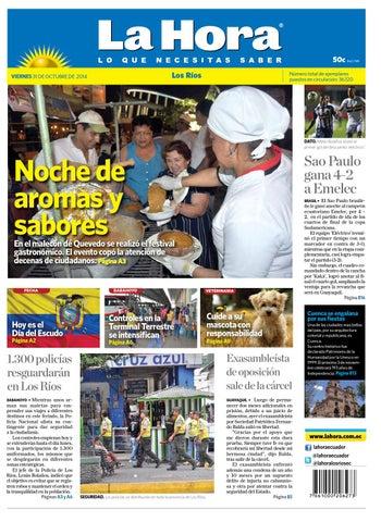 Los Rios 31 octubre 2014 by Diario La Hora Ecuador - issuu d789ed9e417