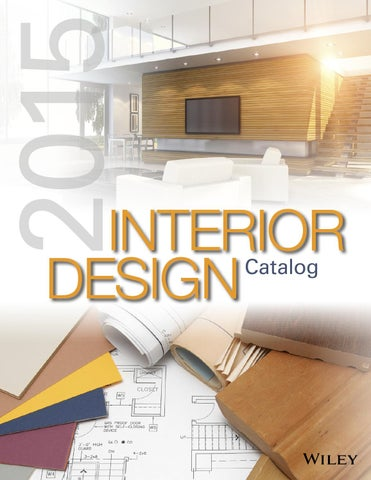 Wiley Interior Design Catalog 2015 By Wiley India Issuu