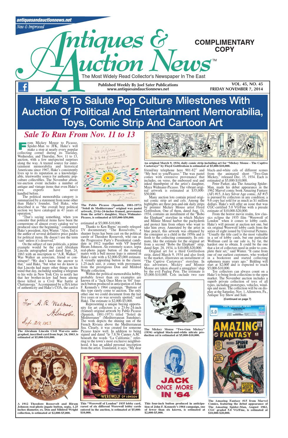 Antiques Auction News 110714 By