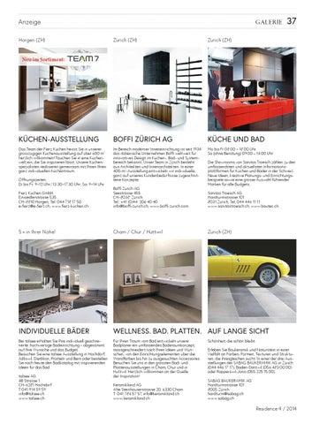 Küchenausstellung chur  Residence November 2014 by NZZ Residence - issuu
