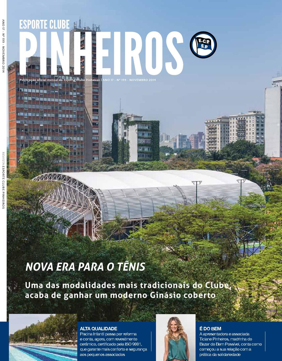 Revista Nº 199 Novembro 2014 by Esporte Clube Pinheiros - issuu 2ff2f3f2ab992