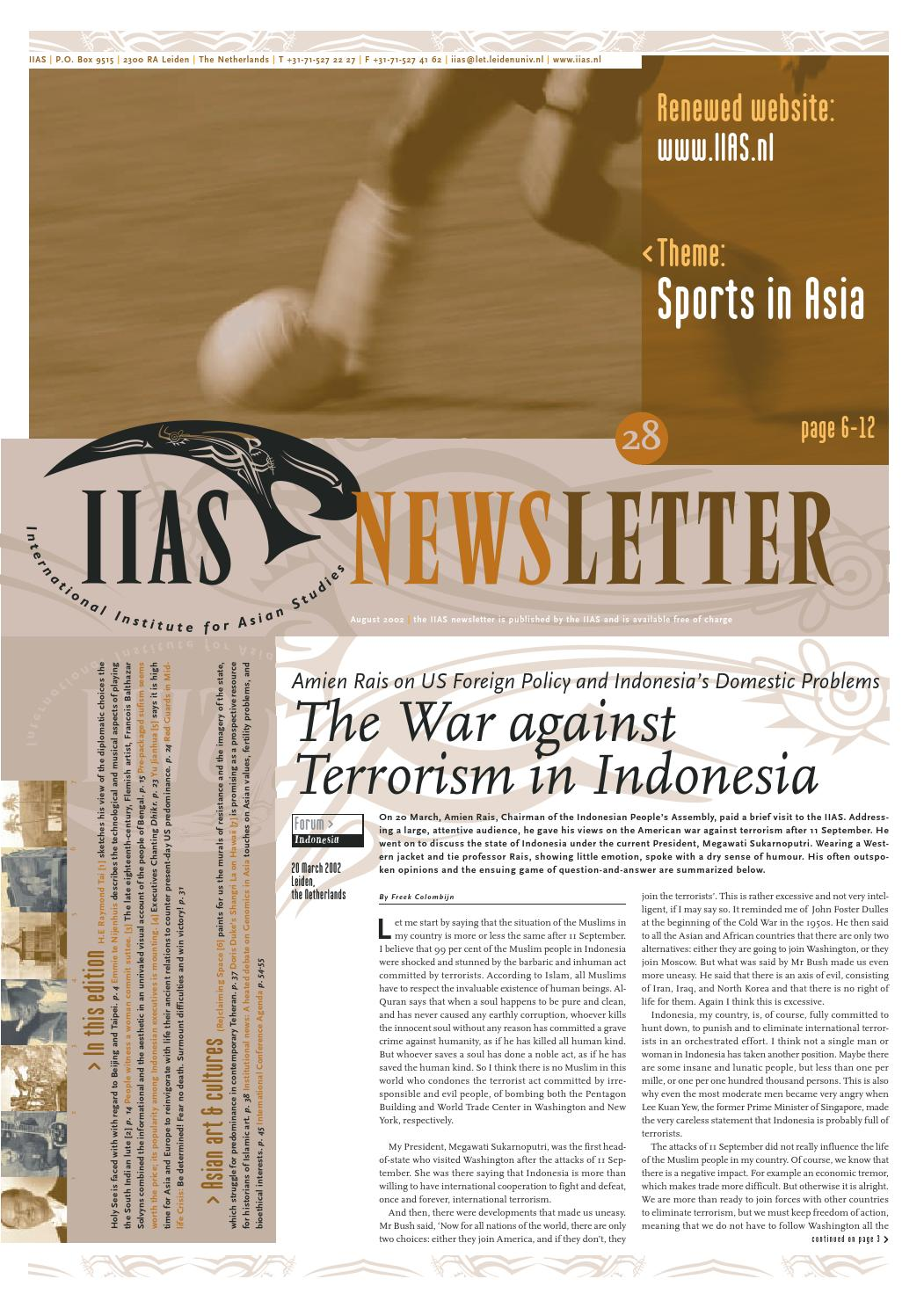 IIAS Newsletter 28 by International Institute for Asian
