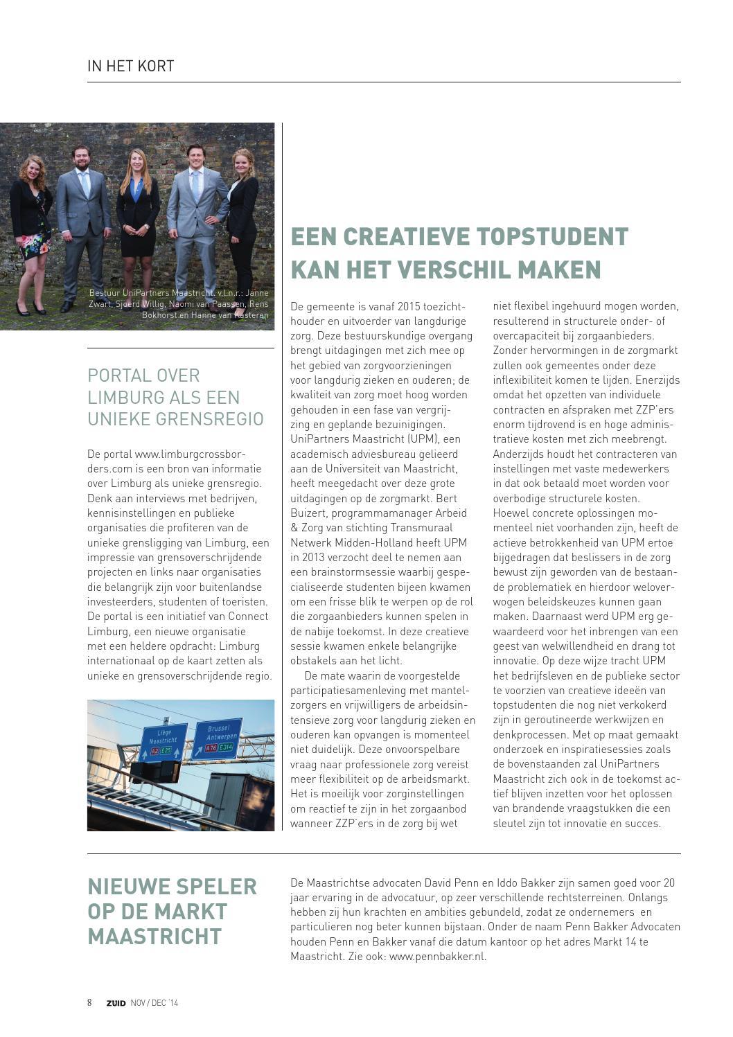 Zuid Magazine Novdec 2014 By Zuid Issuu