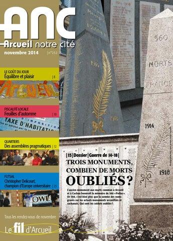 foto de ANC Arcueil notre cité n°252 - Novembre2014 by Mairie d'Arcueil ...