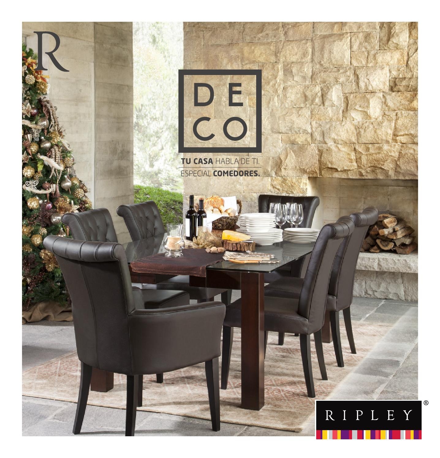 Deco especial comedores by ripley peru issuu for Muebles la sagra catalogo