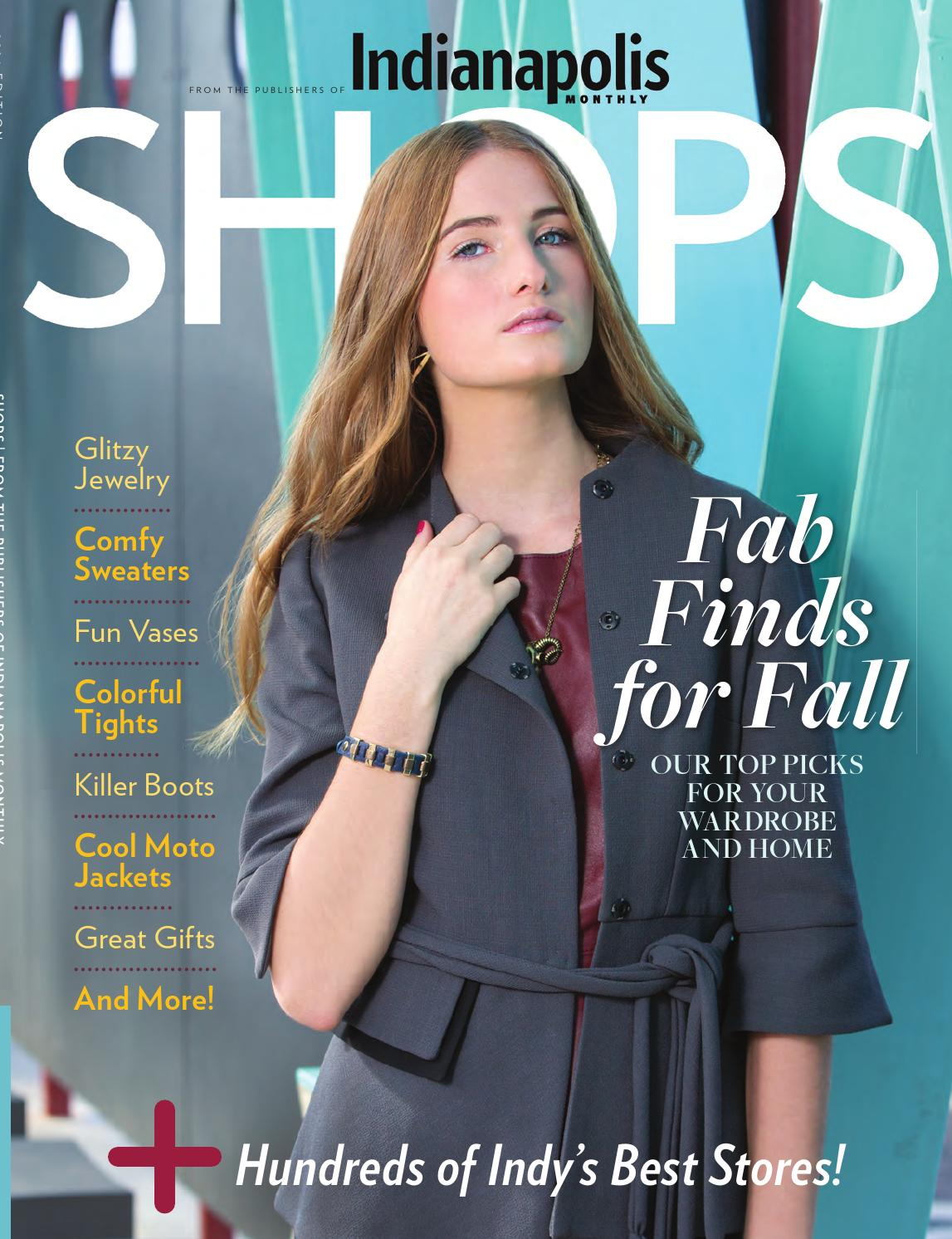 128ad85abf Indianapolis Monthly SHOPS by Indianapolis Monthly - issuu