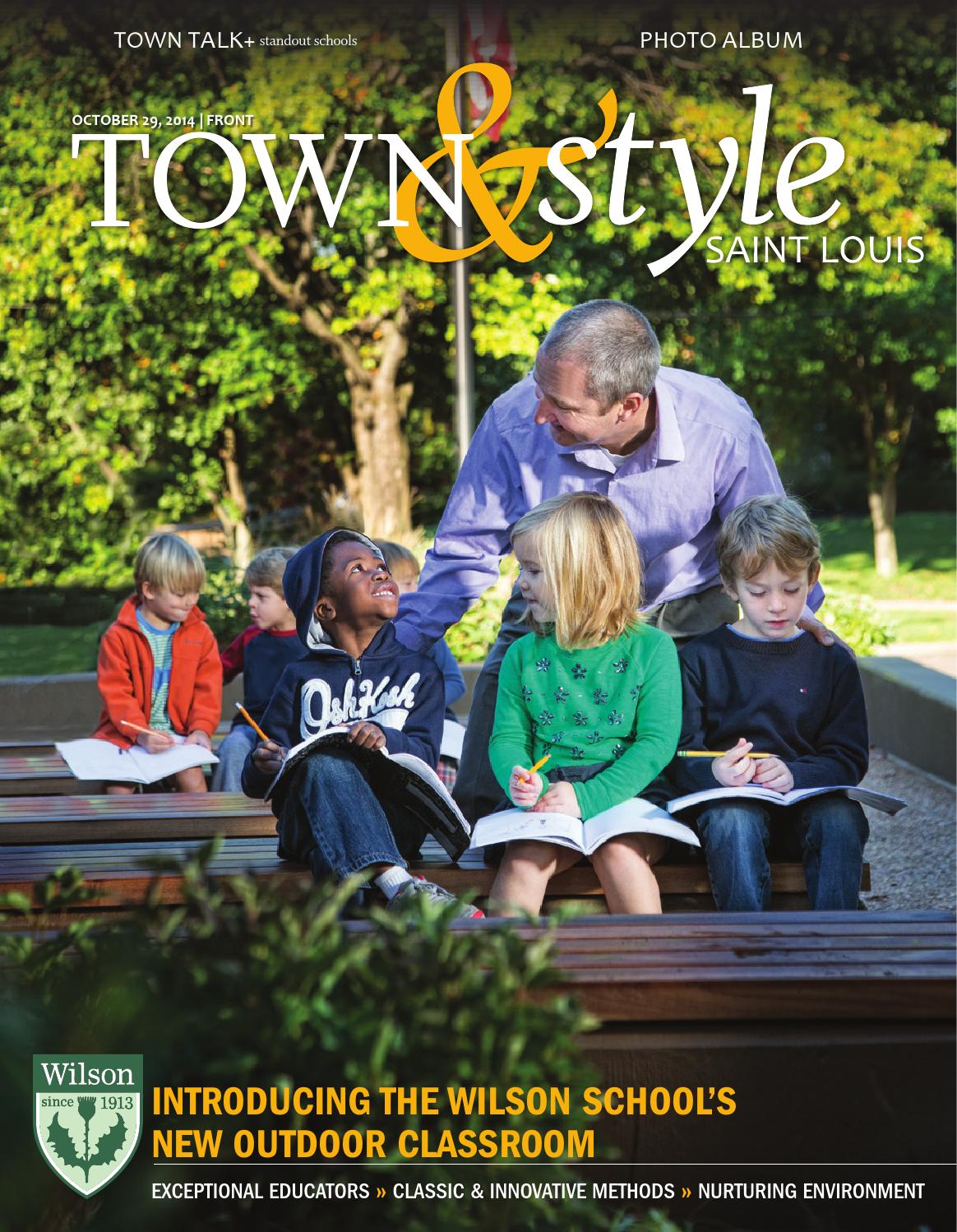 Innovative Outdoor Classroom ~ Town style st louis by