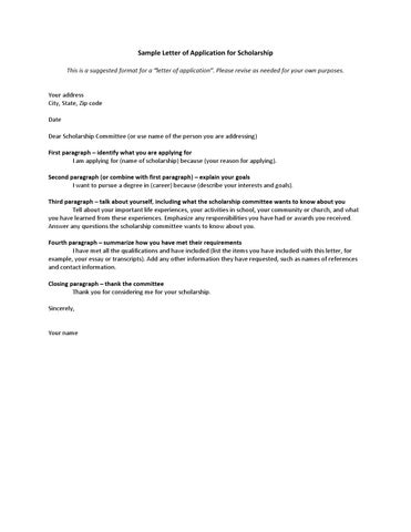 Applying For Scholarships Letter Sample from image.isu.pub
