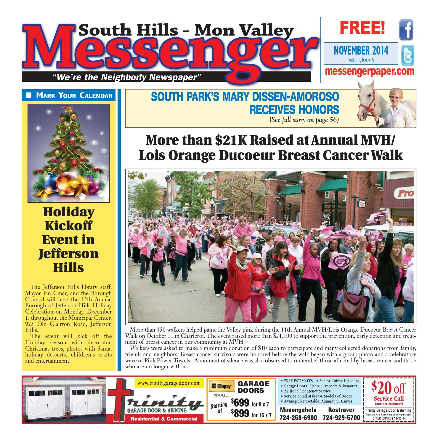 South hills mon valley messenger november 2014 by south hills mon south hills mon valley messenger november 2014 by south hills mon valley messenger issuu fandeluxe Images