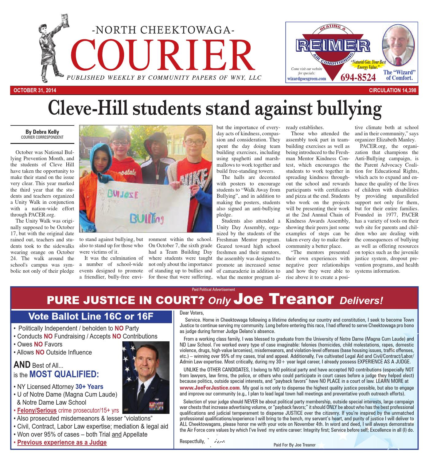 North cheektowaga courier 11 02 2014 by Community Papers of WNY issuu